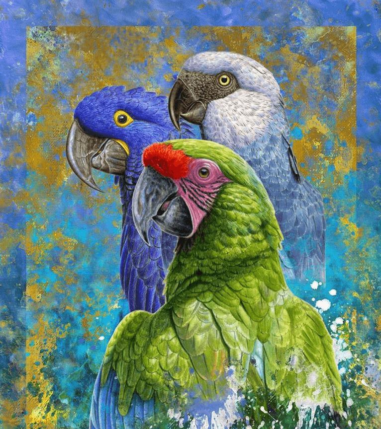 parrot art
